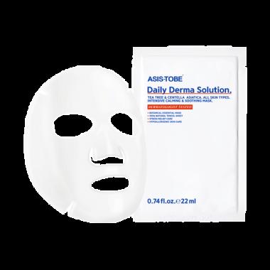 Успокаивающая тканевая маска  для лица «Ежедневный уход» ASIS-TOBE Daily Derma Solution